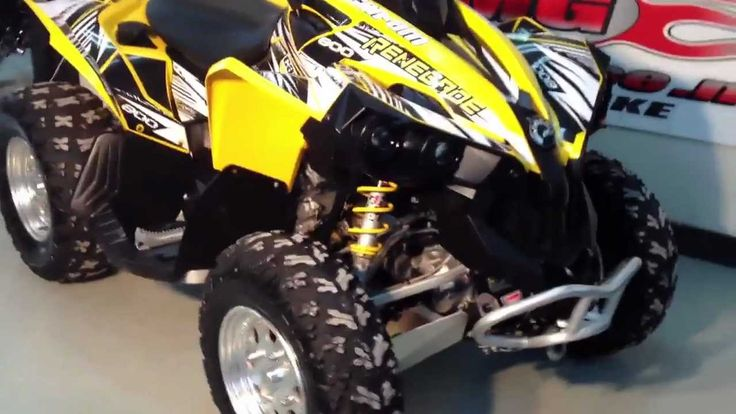 Specification Of Can Am Brp Renegade 800 2007
