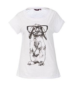Inspire White Rabbit Specs TShirt 9,99 € 50 Vaatteet