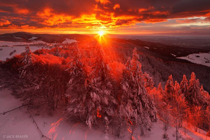 Schauinsland Sunset photo