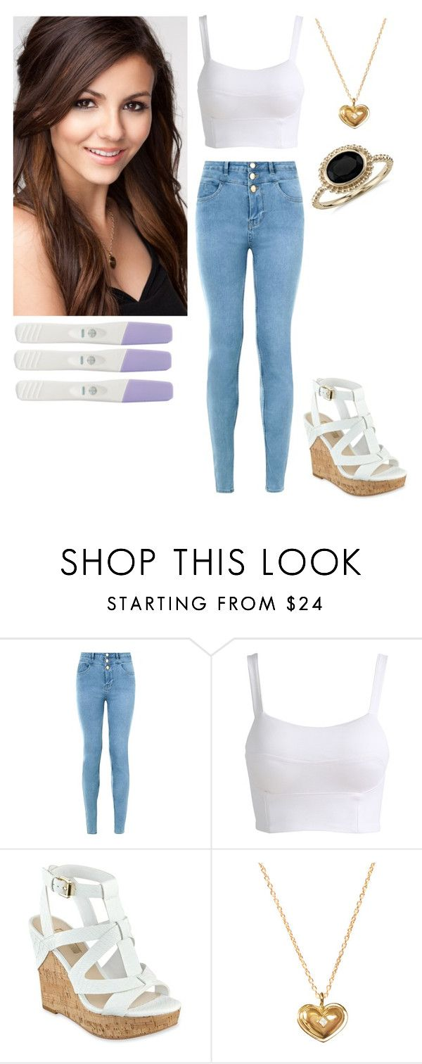 """""""Tori Vega"""" by charmedgreys ❤ liked on Polyvore featuring New Look, GUESS, Isabelle Rowe and Blue Nile"""