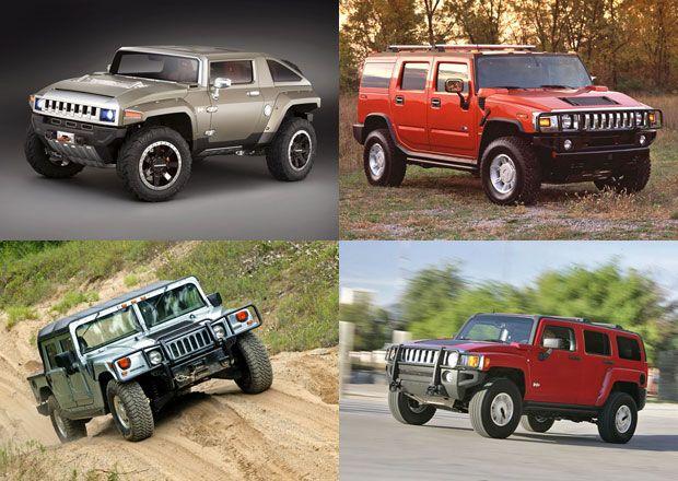Hummer a jeho modely od H1 po HX: Všechny verze terénní legendy pohromadě!