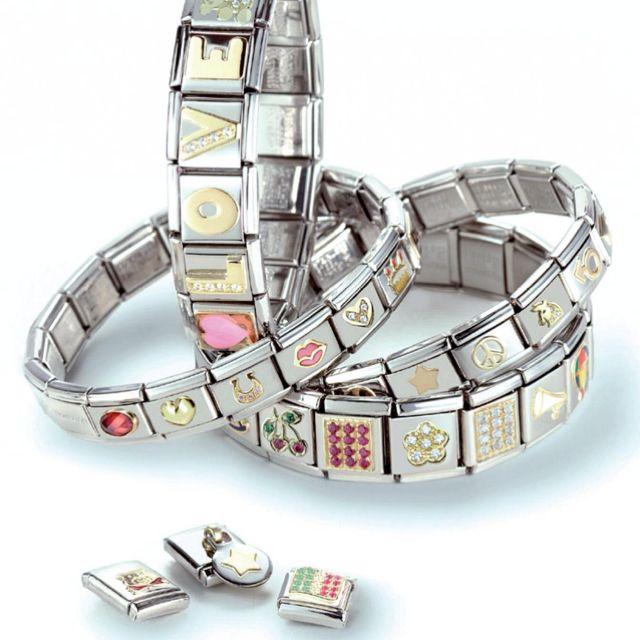 Italian Link Charm Bracelet: 96 Best Italian Charms Images On Pinterest