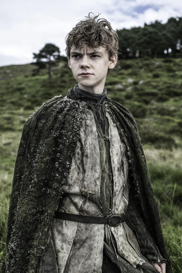 Thomas Sangster as Jojen Reed in Game of Thrones: Costume Designer Michele Clapton- 'You spend two weeks breaking down, patching, dying, repatching. Then you trash it, age it, then trash it again and repair.'