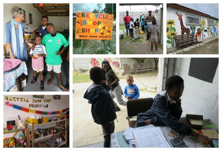 Recycle Swap Shop - Zwelithle Address: Steve Biko Street, Kwasa-Kwasa, Zwelihle Tel: 028 312 1242 Email: swopshop@hermanus.co.za