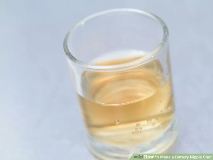 Image titled Make a Buttery Nipple Shot Step 1
