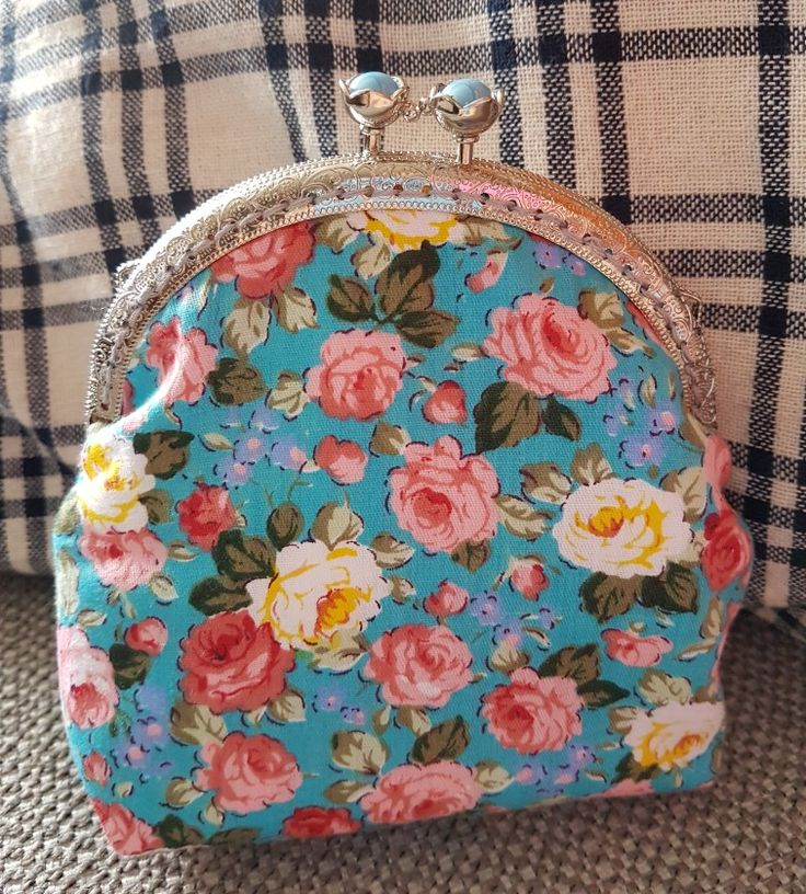 Another pretty purse completed  again