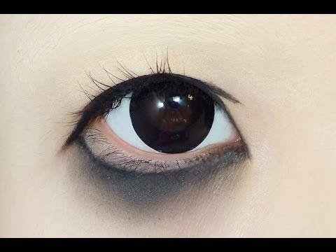 Tutorial : Anime Eye Makeup 67 - YouTube