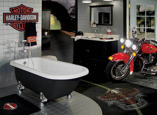Motorcycle Man Cave Decor: 360 Best Images About Harley Davidson On Pinterest