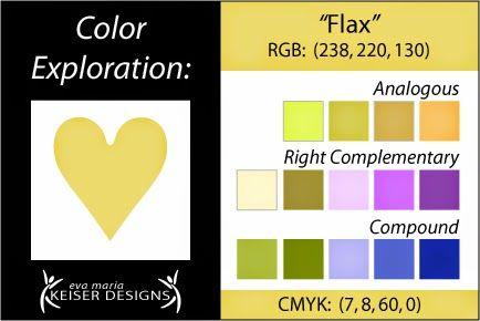Explore Color:  Flax