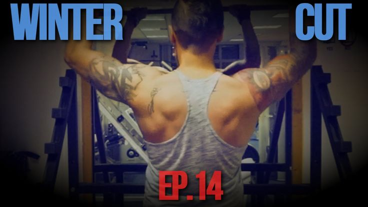 Winter Cutting│Back workout│Ep.14