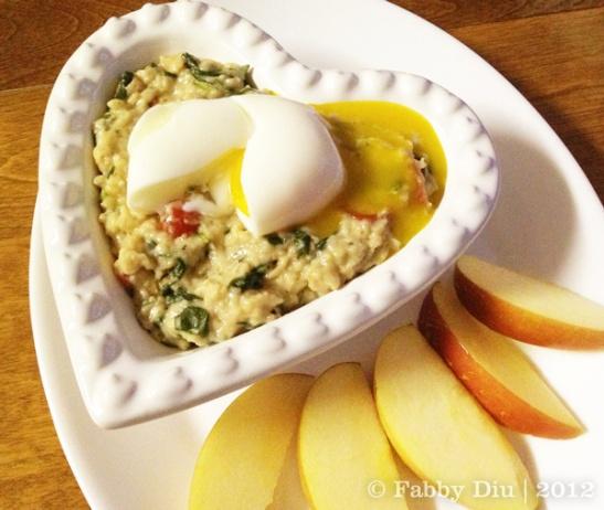 savoury-oatmeal   eat clean, train mean!   Pinterest