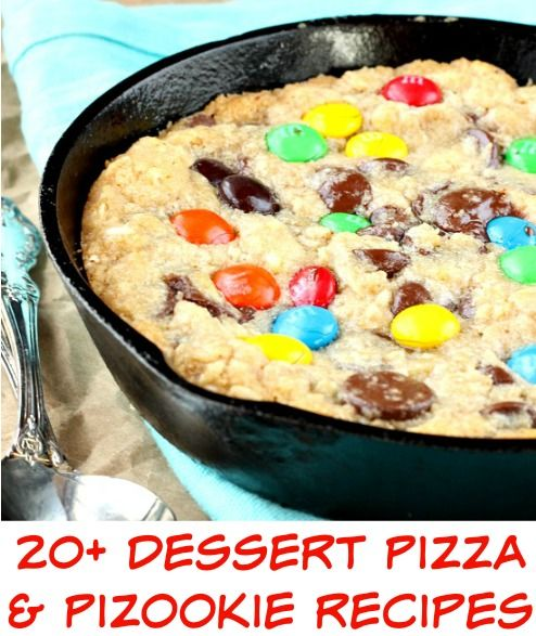 Dessert Pizza and Pizookie Recipes