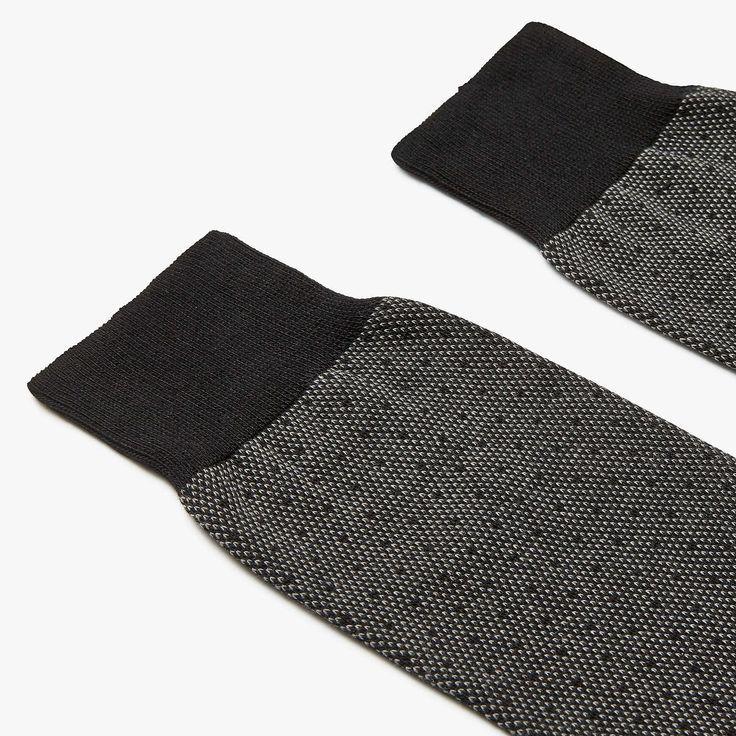 John Lewis Partners Birdseye Egyptian Cotton Socks Pack Of 2 Black Birdseye Black Cotton Egyptian Jo Cotton Socks Mens Designer Socks Designer Socks