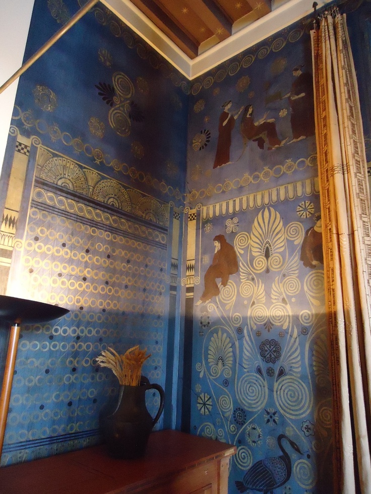 Bedroom walls of Lady of the house