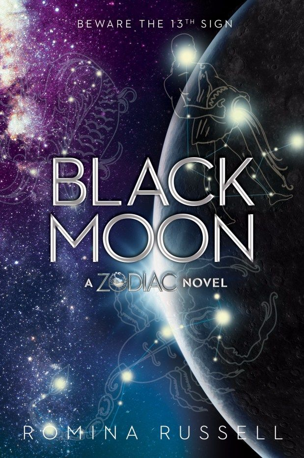 #CoverReveal: Black Moon - Romina Russell