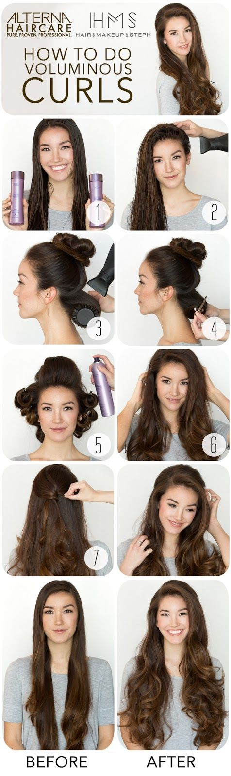 Hair and Make-up by Steph: Voluminous Curls with Alterna