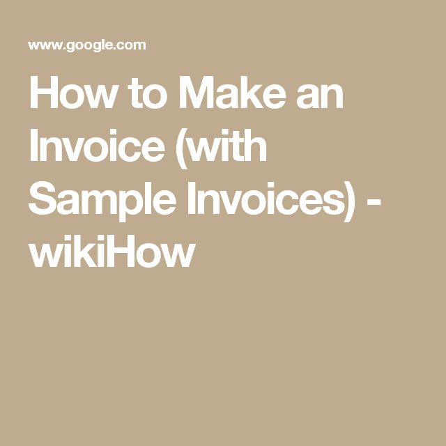 Más de 25 ideas increíbles sobre Make invoice en Pinterest - how to make a invoice