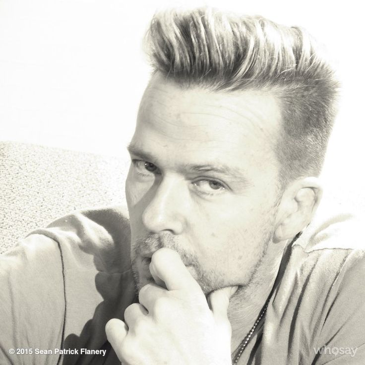 "Sean Patrick Flanery's image - """"It Was Aimed For My Nose"""" on WhoSay"