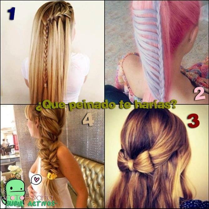 Peinados ;)