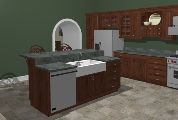 How to Place an Apron Sink - Chief Architect Software Help