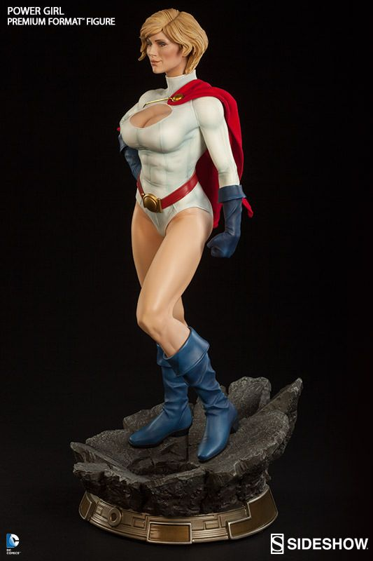 DC Comics Power Girl Premium Format(TM) Figure by Sideshow C | Sideshow Collectibles