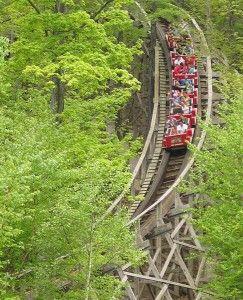 Bristol, Connecticut - Lake Compounce Amusement Park- this amusement park is 164 years old!
