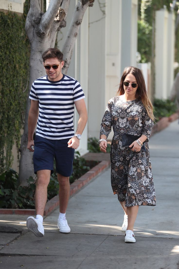 February 6 Niall His Assistant Tara In La Fashion Capri Pants Pants