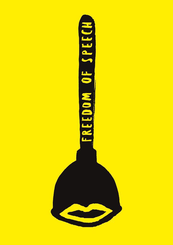 Faith Ringgold Freedom of Speech Poster - FindGift.com |Freedom Of Speech Poster Ideas