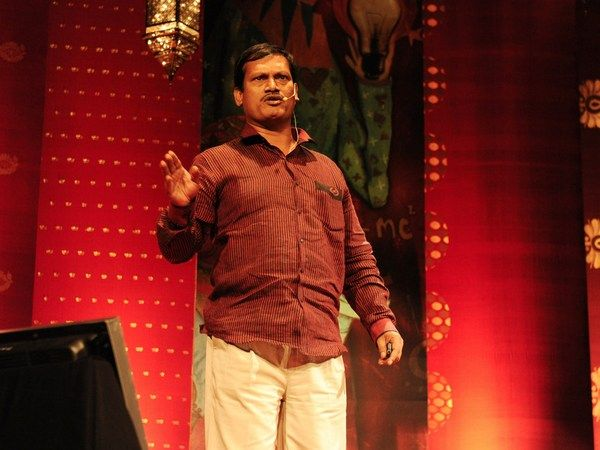 """How I started a sanitary napkin revolution! When he realized his wife had to choose between buying family meals and buying her monthly """"supplies,"""" Arunachalam Muruganantham vowed to help her solve the problem of the sanitary pad. His research got very very personal — and led him to a powerful business model. (Filmed in Bangalore as part of the TED Global Talent Search.)"""