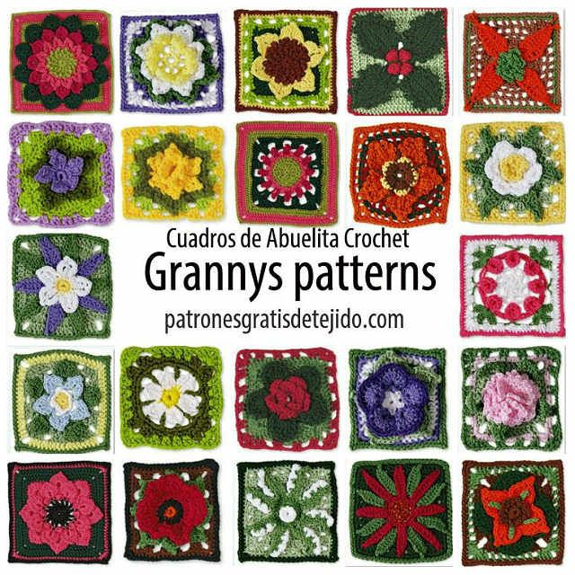 granny crochet pattern - free download
