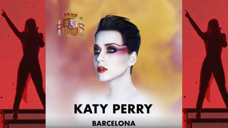 Katy Perry enfurece a los independentistas: anuncia su concierto en Barcelona con la bandera de España