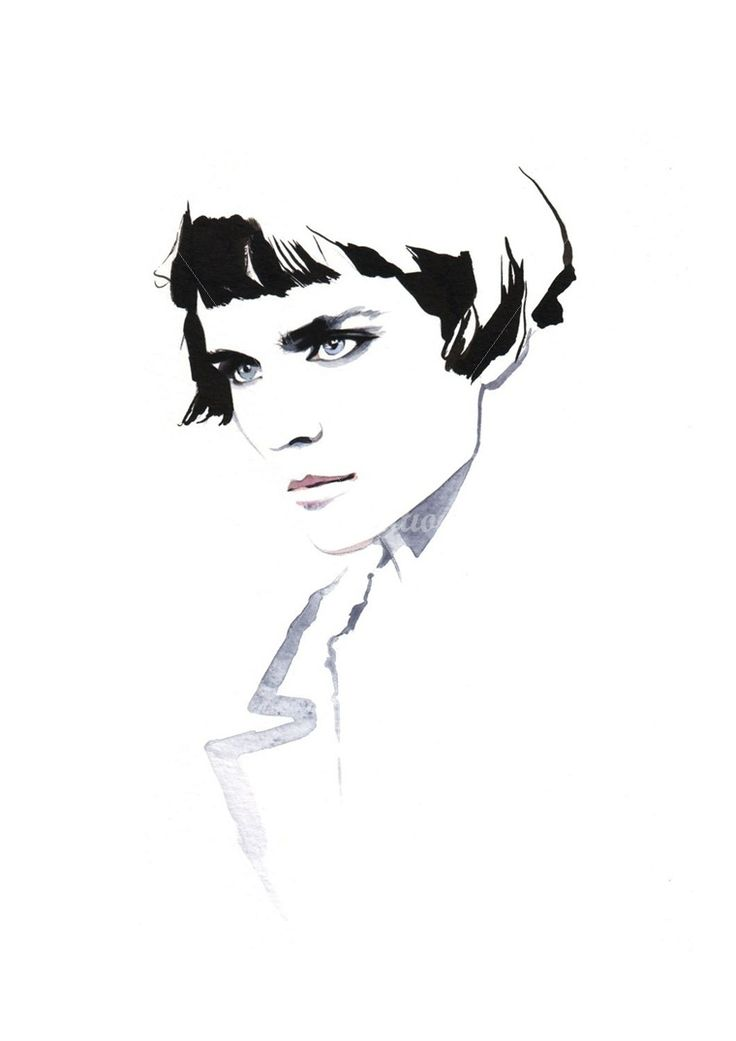 Petra Dufkova illustrator - fashion illustration