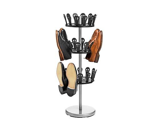 Подставка для обуви на 18 пар - металл с напылением - В89