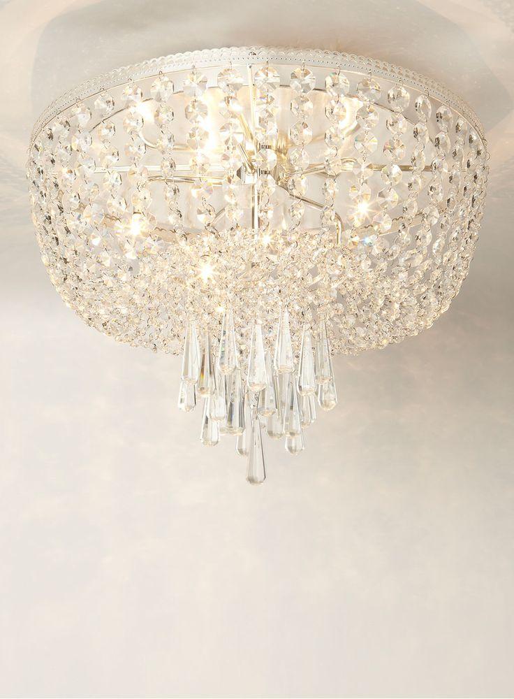 Bedroom Ceiling Lights Bhs : Veronica flush light bhs new salon