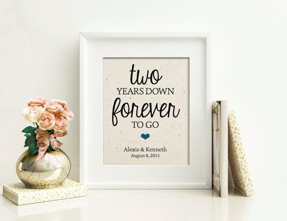 Wedding Gifts By Years: 25+ Best Ideas About 2 Year Anniversary Gift On Pinterest