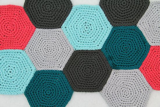 Hexagon crochet