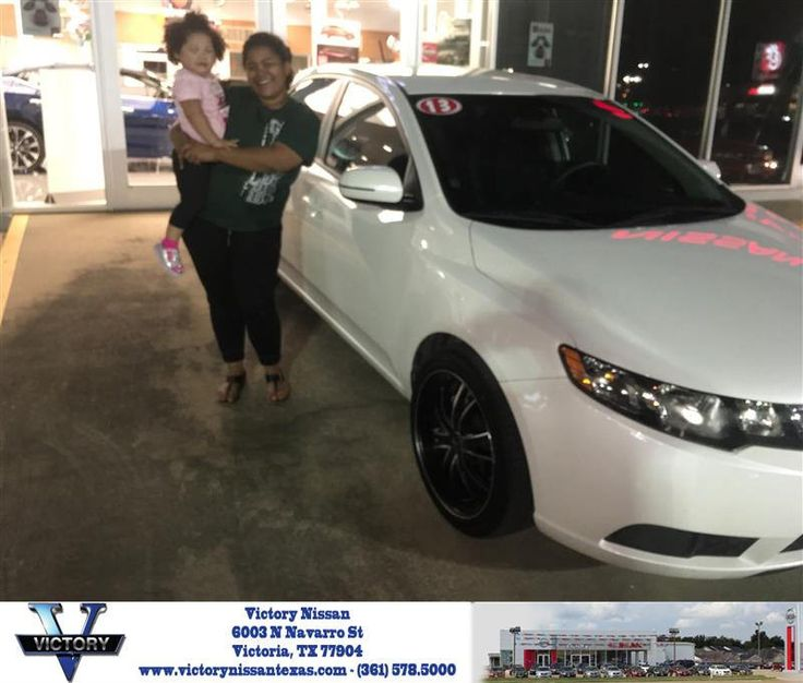 https://flic.kr/p/Err9Uv | Congratulations Jaqueline on your #Kia #Forte from Joseph Garrett at Victory Nissan! | deliverymaxx.com/DealerReviews.aspx?DealerCode=M707
