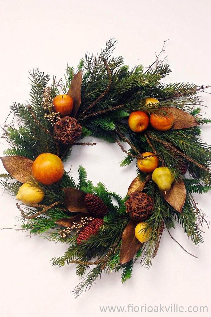 Christmas Wreaths - Traditional, rustic, country or contemporary. Whatever the style make sure your Christmas wreaths (who says you need just one) reflect your personality.