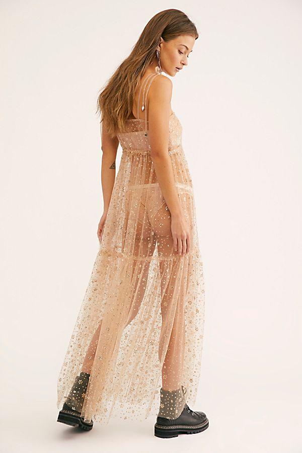 89125f5740675f Slide View 2  FP One Estella Glitter Maxi Slip Dress