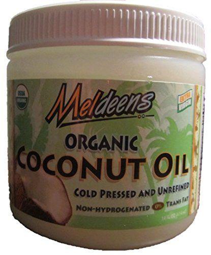 Meldeens-Raw-Organic-Extra-Virgin-Expeller-Pressed-Coconut-Oil  ~Cultured Food Life Store