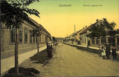 Celldömölk; Ferenc József utca | Képeslapok | Hungaricana