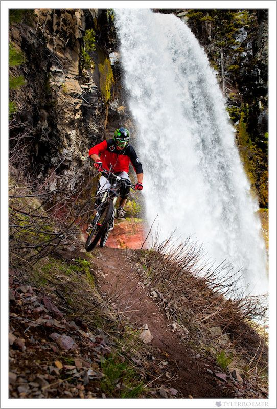 mountain biking with great scenery #mtb