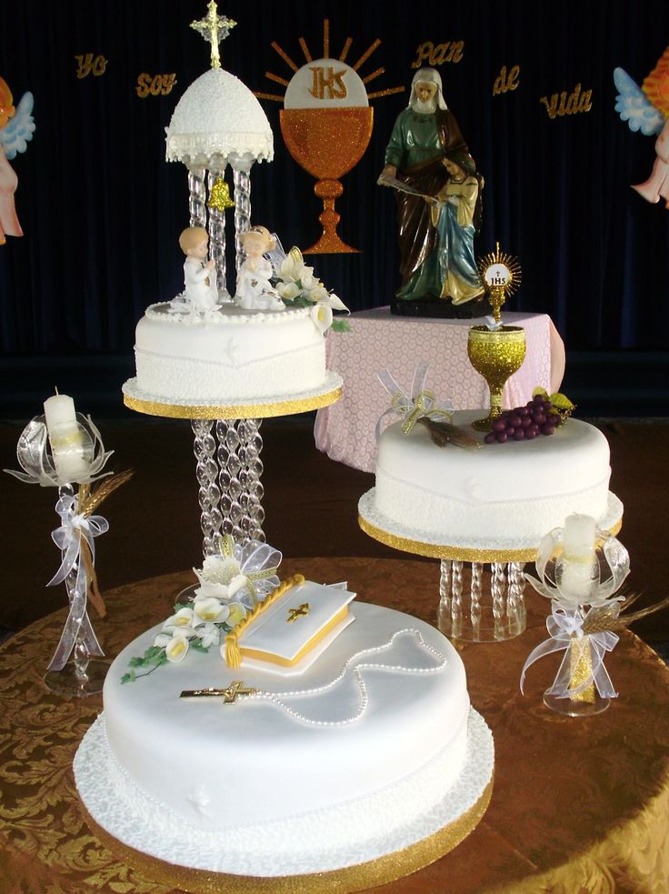 56 best sen first communion cakes images on pinterest first holy communion cake ideas and - Holy communion cake decorations ...