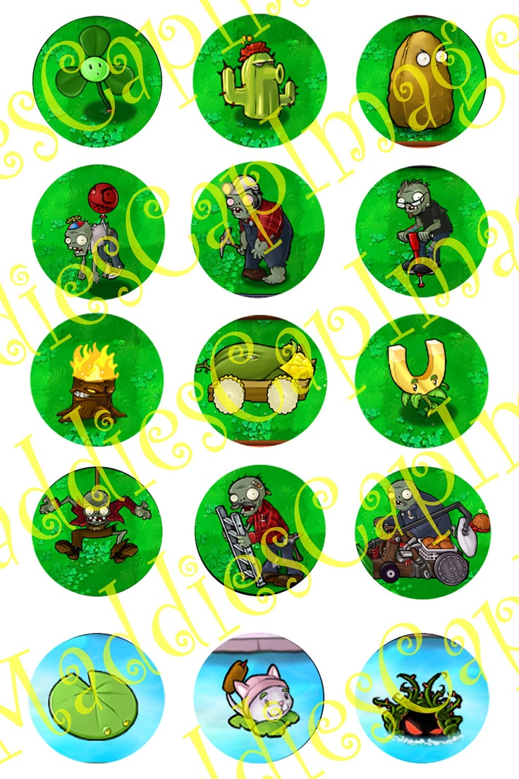 45 best plants vs zombies birthday party images on pinterest