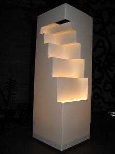 DIY Tutorial DIY Home Decor / DIY Paper Wall Lamp   Beadu0026Cord