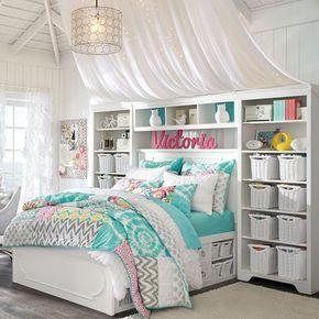 Idee camera da letto piccola | idei decorare casa | Bedroom, Girls ...