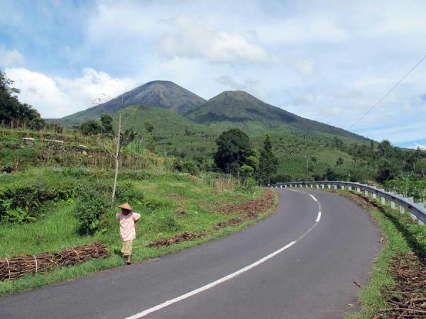 Gunung Sindoro, Temanggung, Indonesia