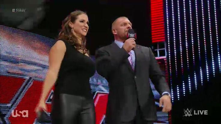 WWE Storyline Update on Triple H and Stephanie McMahon - http://www.wrestlesite.com/wwe/wwe-storyline-update-triple-h-stephanie-mcmahon/