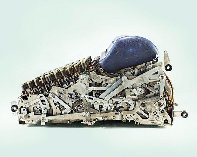 Mechanikus számológép-Fedezze fel a csodálatos keresztmetszeti nézetet a 22 hétköznapi tárgyak vágása fél 13-ban