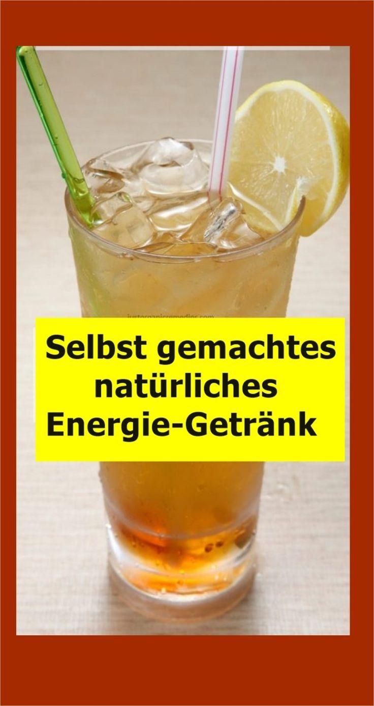 Selbst gemachtes natürliches Energie-Getränk | njuskam!